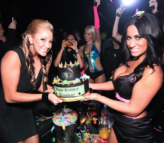 Kristen Renton celebrates 30th Birthday at Gallery Nightclub