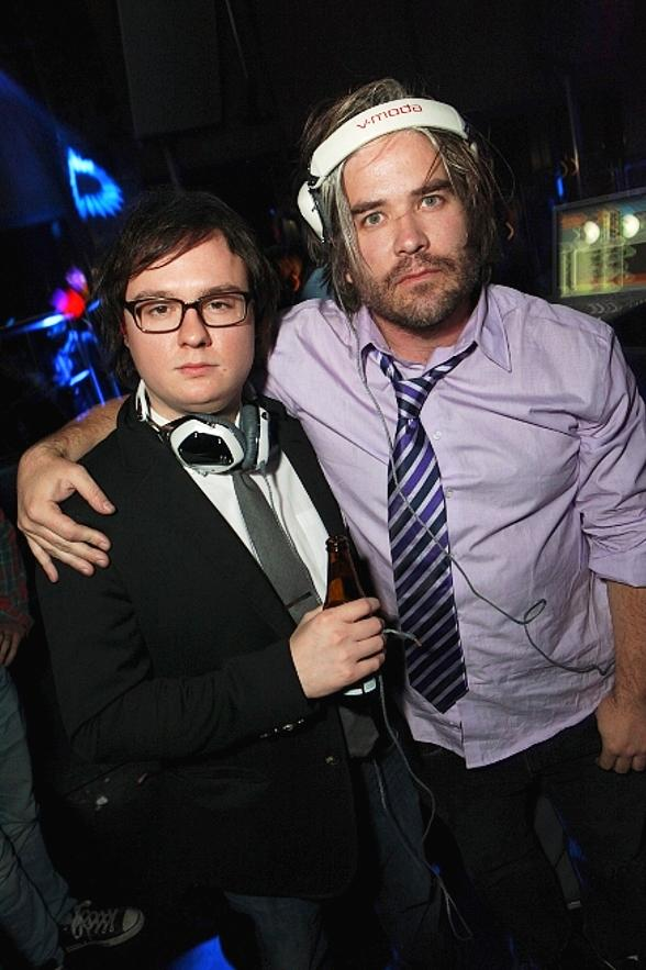 Show Business: Clark Duke and Chris Holmes at Moon Nightclub