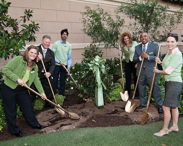 The Venetian, The Palazzo and Sands Expo Las Vegas Give Back to Mother Nature with Tree Planting Ceremony