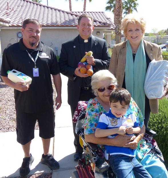 Clark County Awards Nearly $2.5 Million in Grant Money to Catholic Charities of Southern Nevada to Expand Food Pantry and Meals on Wheel Programs