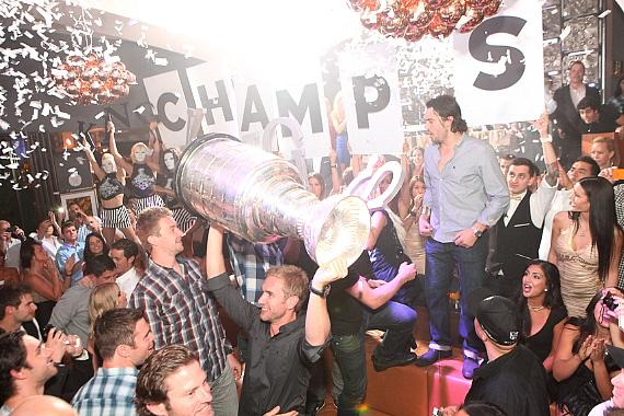 LA Kings and Stanley Cup at Hyde Bellagio, Las Vegas