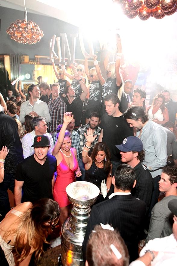 Los Angeles Kings and Stanley Cup Celebrate at Hyde Bellagio, Las Vegas