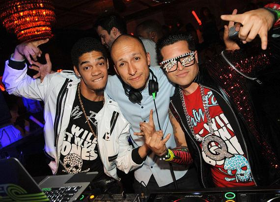 DJ Vice and Party Rock Crew at LAVO