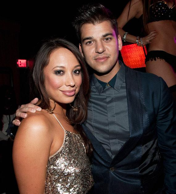 Cheryl Burke and Rob Kardashian at LAVO