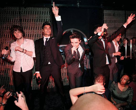 The Wanted perform at LAVO
