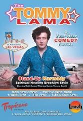 Comedian Tommy Lama debuts at Las Vegas Laugh Factory in Tropicana Las Vegas
