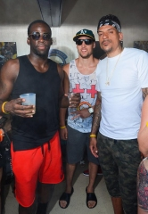 Golden State Warriors Celebrate NBA Championship Title at LIQUID Pool Lounge at ARIA Resort & Casino in Las Vegas
