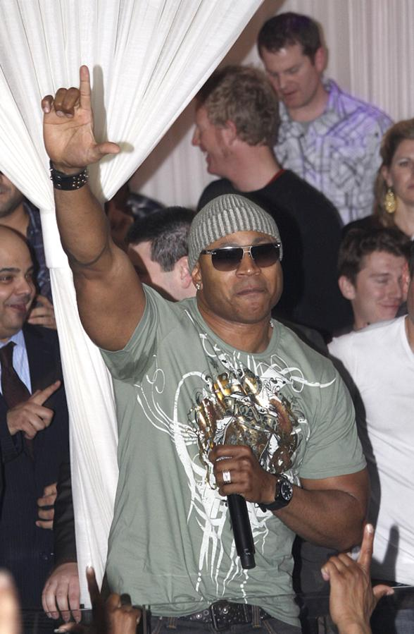 LL Cool J at PURE Nightclub