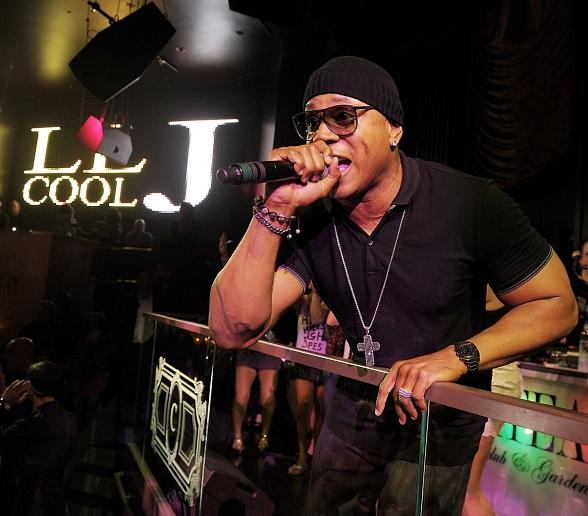 LL Cool J performs inside Chateau Nightclub & Gardens