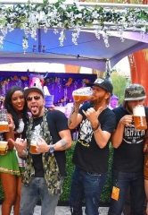 Locash Taps the Keg as Beerhaus Kicks Off Oktoberfest at The Park