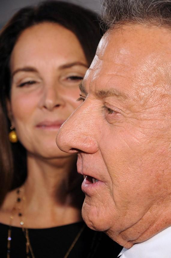 Lisa Hoffman and Dustin Hoffman