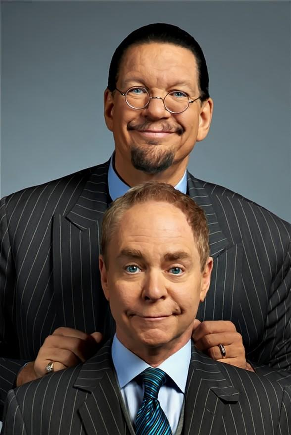 Join Penn & Teller to Magically Make Dec. 19 – Jan. 1 the 13 Bloody Days of Christmas