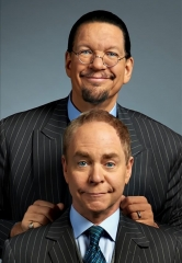 "Rio All-suite Hotel & Casino Headliners Penn & Teller Kick Off ""13 Bloody Days of Christmas"" Annual Blood Drive"