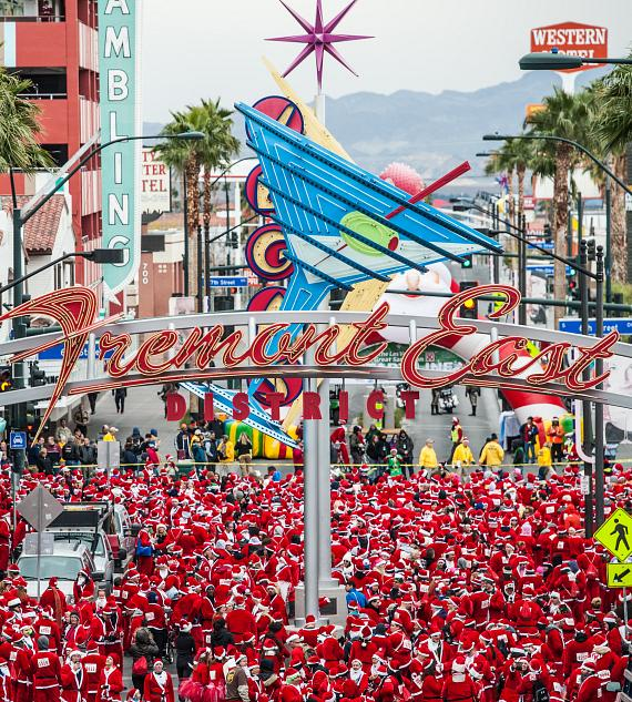 The Las Vegas Great Santa Run