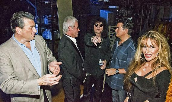 Backstage with Robert Nash, LJ Harness and Paul Shortino