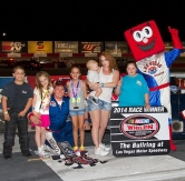 Gafforini Earns Sweet Win on Keith Danser Kids Candy Toss Night at The Bullring at LVMS