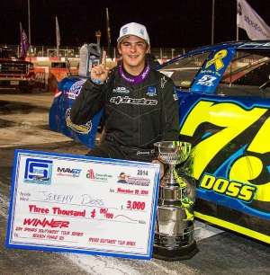 Doss, Mardis score victories during West Coast Short-Track Championships Saturday at The Bullring at Las Vegas Motor Speedway