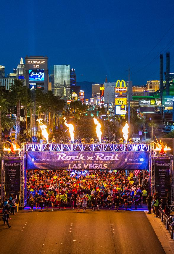 Rock 'n' Roll Las Vegas Marathon Celebrates Global Running Day