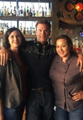 Daytime Stars, Lorenzo Lamas and Winsor Harmon, Dine at La Comida in Downtown Las Vegas