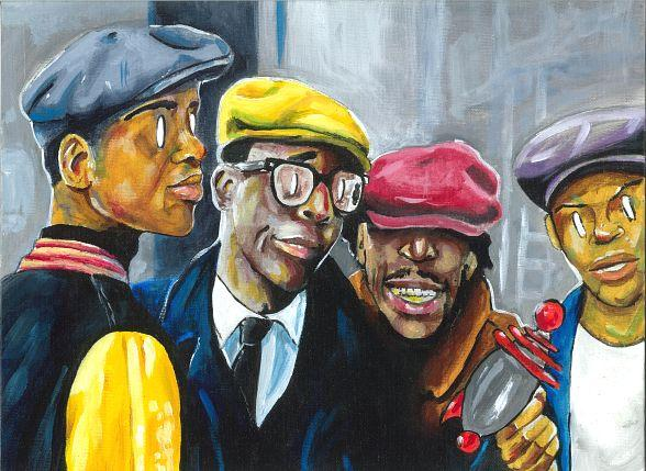 """First Friday Promotes """"Commitment"""" at First Event in 2018; Featured Artists Are Laron Emcee and AROSE1 Who Will Paint Live"""