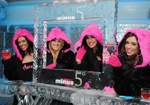 Ladies of FANTASY at Minus5 Ice Bar at Mandalay Place