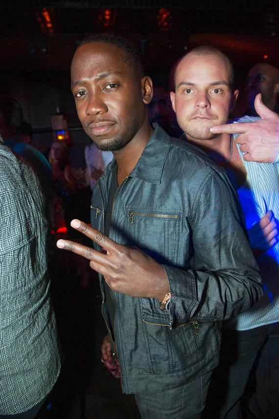 Lamorne Morris at LAVO
