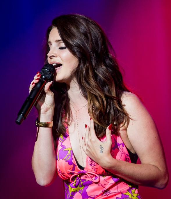Lana Del Rey and Young The Giant Perform in Valley to Vegas: Spring Concert Series at The Cosmopolitan of Las Vegas