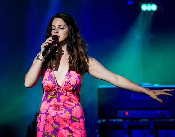 Lana Del Rey performs at The Chelsea at The Cosmopolitan of Las Vegas