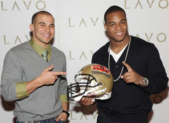 Lance Moore & Pierre Thomas at LAVO