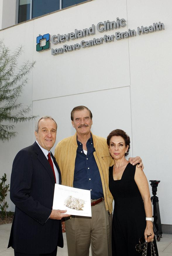 Larry Ruvo, Vicente Fox Quesada, Marta Sahagun de Fox
