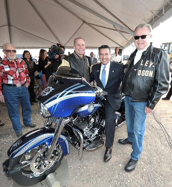 las vegas harley-davidson breaks ground on las vegas strip dealership