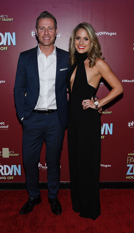 Las Vegas Headliner Paul Zerdin and Robyn Mellor at Opening Night of PAUL ZERDIN MOUTHING OFF at Planet Hollywood Resort & Casino
