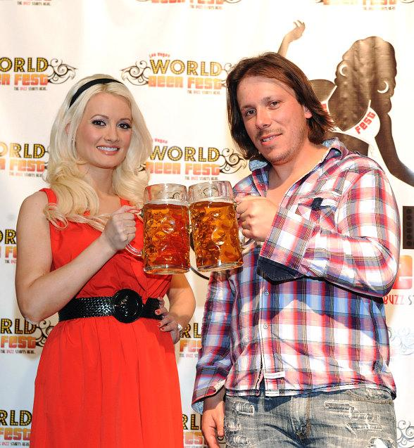 Holly Madison at a previous Las Vegas World Beer Fest