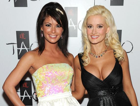 Laura Croft and Holly Madison at TAO