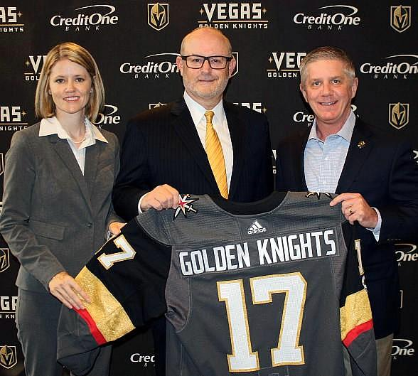 Credit One Bank Announces Partnership with the Vegas Golden Knights