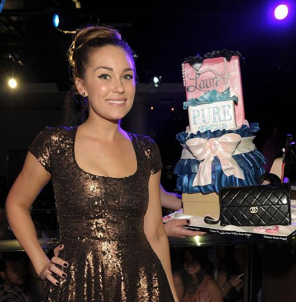Lauren Conrad celebrates 25th birthday at PURE Nightclub