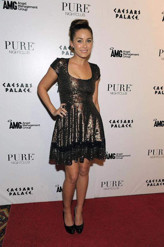 Lauren Conrad on PURE Nightclub red carpet