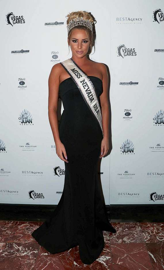 "Miss Nevada USA 2017 Lauren York at ""Vegas Cares"" Benefit at The Venetian Las Vegas"