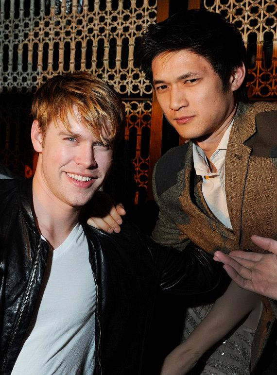 Chord Overstreet with Harry Shum