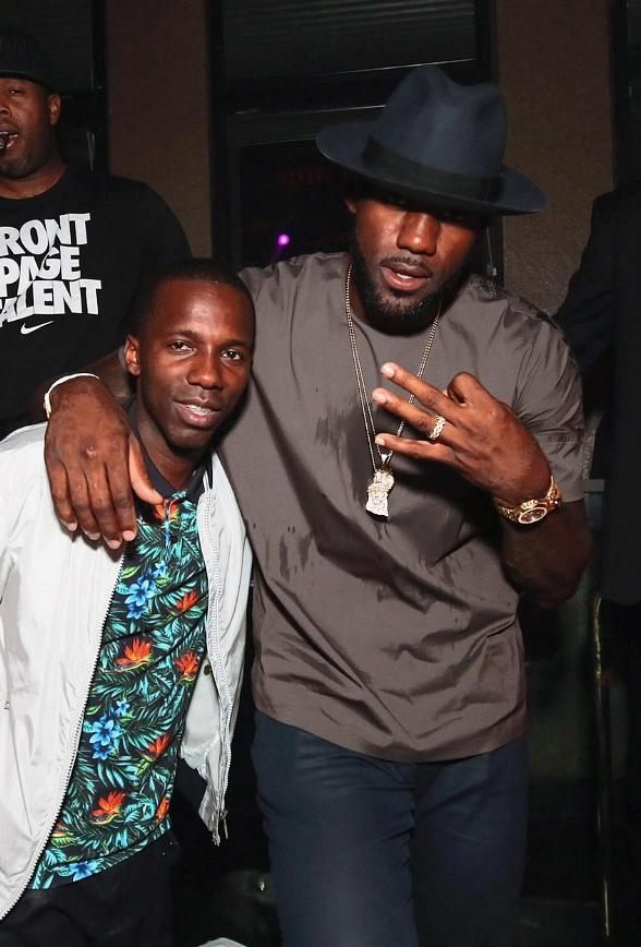 Lebron James, DJ Khaled and more at TAO Saturday