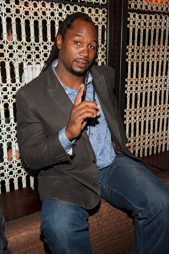 Lennox Lewis Hosts at LAVO