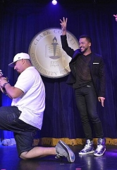 "Jai Rodriguez and Kendra Wilkinson Assist in Surprise Marriage Proposal at ""Sex Tips for Straight Women from a Gay Man"" at Paris Las Vegas"