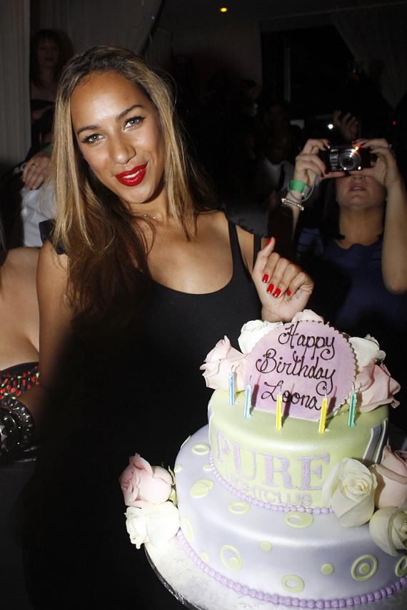 Leona Lewis celebrates birthday with performance at PURE Nightclub