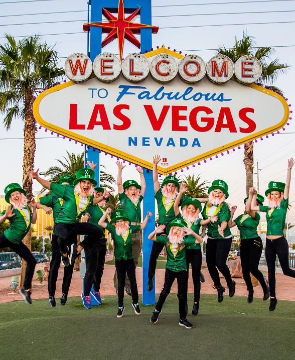World's Largest Leprechaun Gathering Scheduled in Las Vegas to Benefit Childhood Cancer Research