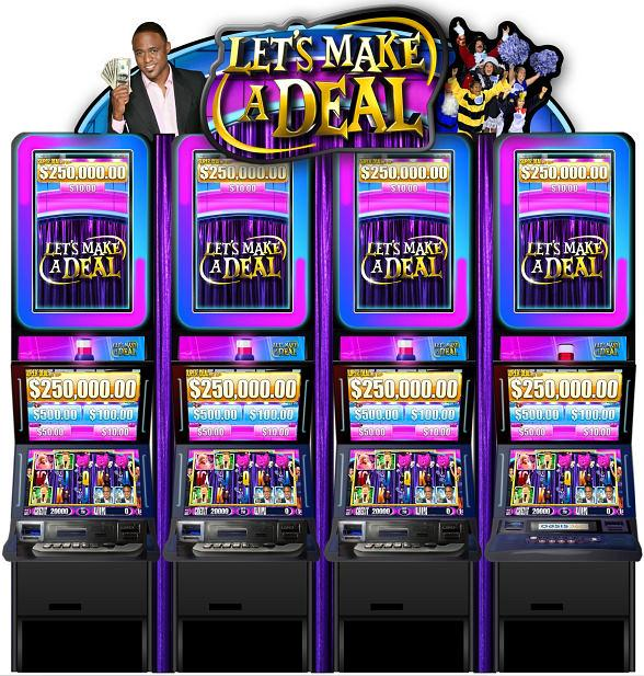 Aristocrat's New Video Slot Machine: Let's Make A Deal!