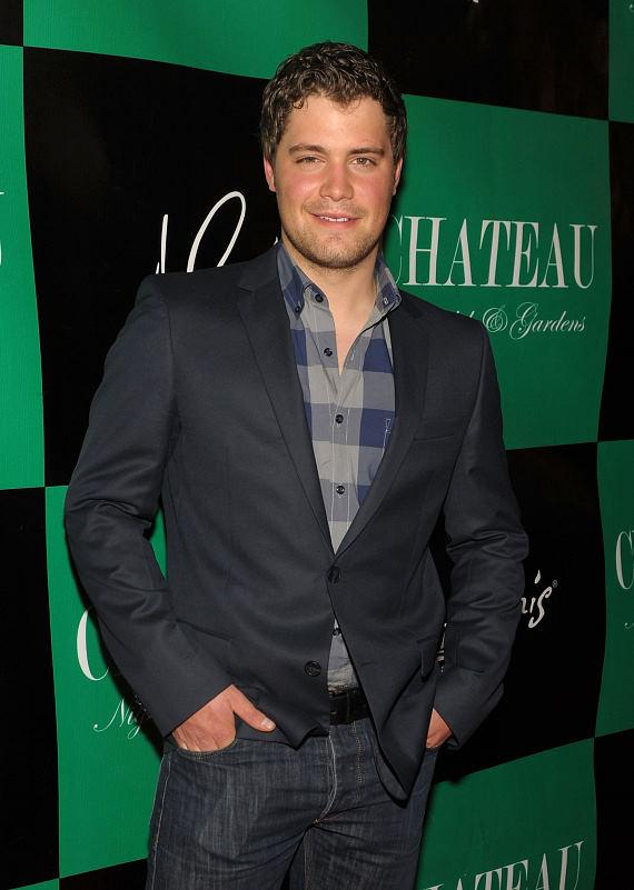 Levi Johnston on the red carpet at Chateau Nightclub & Gardens inside Paris Las Vegas