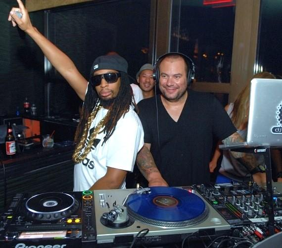 LiL Jon and Brandon Roque at Blush Boutique Nightclub