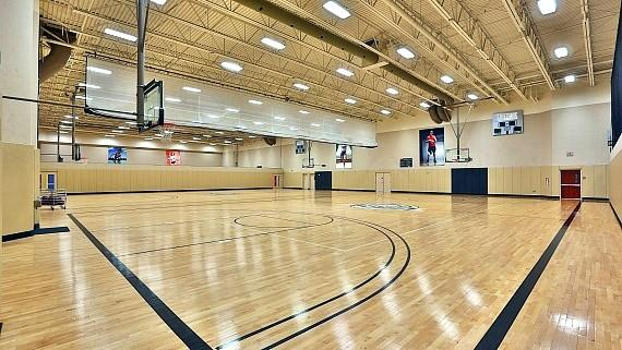 Life Time Athletic Basketball Court