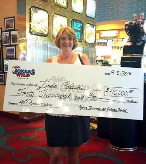 Boyd Gaming's 40th Anniversary Celebration Concludes with $400,000 Giveaway; Linda P. takes home $40,000 grand prize