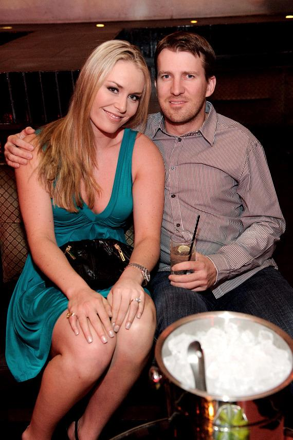 Lindsey &amp; Thomas Vonn at LAVO